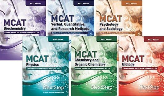 MCAT Prep Books - Next Step